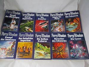 Perry Rhodan 51-60 Blauband blaue Ausgabe Cover Sammlung