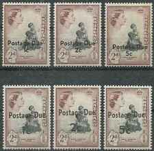 Timbres Swaziland taxe 5/10 ** lot 29932 - cote : 20 €