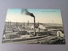 AK Frankreich Großmövern-Lothringen Hüttenwerke Feldpost 1917 (S88)