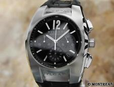 Bulgari Ergon Large 40mm Swiss Stainless St Chronograph Mens Auto Watch AG89
