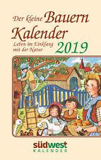 Der kleine Bauernkalender 2019 Taschenkalender M. Muffler-Röhrl (04.06.2018 )
