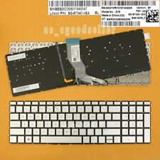 New for HP home 17-ak000 17-bs000 17g-br000 BACKLIT Keyboard Spanish Silver