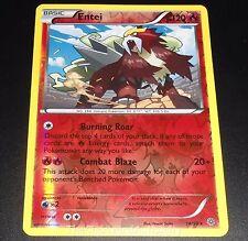 Entei 14/98 XY Ancient Origins REVERSE HOLO Pokemon Card NEAR MINT