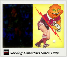 1995 Dynamic Rugby League S2 Megamorph Allan Langer (Redemption + Megamorph)