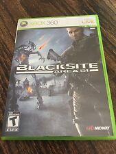 Blacksite Area 51 Xbox 360 Cib Game XG3