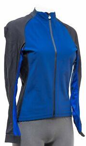 Assos UMA GT Spring Fall Jacket Women MEDIUM Blue Road Bike Cycling Gravel MTB