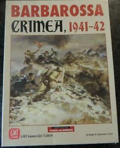GMT Games, Barbarossa Crimea wargame (East Front Series) unpunched