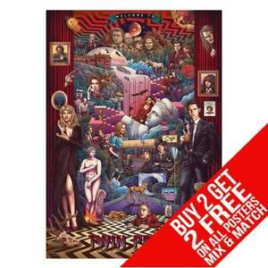 TWIN PEAKS BB1 POSTER ART PRINT A4 A3 SIZE - BUY 2 GET ANY 2 FREE