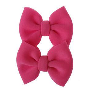 2Pcs/Set Baby Kids Hair Clip Baby Girls Hairpins Bow Barrettes Hair Accessories