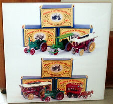 MATCHBOX Models of Yesteryear Rare ,scarce  engine,tractor tribute CERAMIC TILE