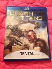 CLASH OF THE TITANS BLU-RAY 2010 (REMAKE) MOVIE SAM WORTHINGTON