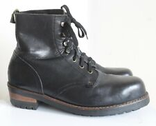 Shellys of London Work Boots Size 11 Commando Soles Made in England
