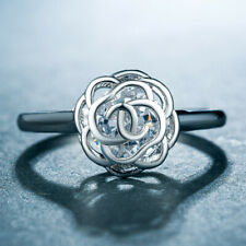 Ring Cubic Zirconia Ring Size 6-10 Exquisite Jewelry Silver Rose Gold Wedding