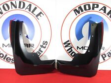 2019 RAM 1500 Front Molded Splash Guard Mud Flaps W/ Fender Flares NEW OEM MOPAR