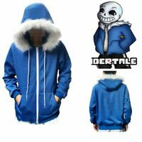Undertale San Cosplay Costume Hoodie Shorts Stocking Mask Gloves Halloween Decor