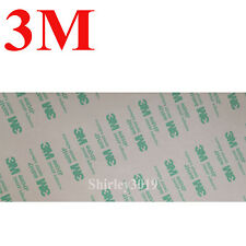 3M 468MP 200MP Clear Double Side Adhesive Transfer Tape 100mmx85mm Thin 0.13mm