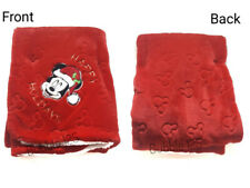 Disney mickey mouse baby fleece Blanket Kids Bedding Features Soft & Cozy,