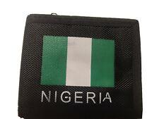 Nigeria Fabric Black Men Wallet Plenty Compartments Gift Camping Money UK