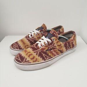 Vans Era X Pendleton Tribal Tan Wool Men's Size 12 See Photos