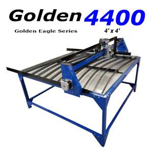 4x4 Eagle Plasma CNC Plasma Cutting Table w/ MyPlasm CNC Control System