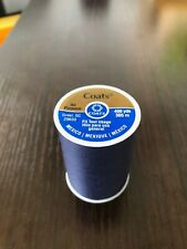 Coats & Clark Navy Dark BLUE thread all purpose 400 yard 1 spool fast shipping