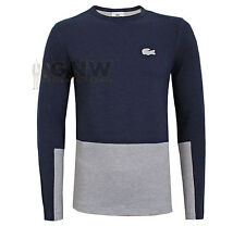 Lacoste Crew Neck Regular Fit Casual Shirts & Tops for Men