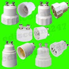 GU10 to E14/E27/G9/MR16 Light Bulb Adaptor LED Lamp Holder Converter UK SELLER
