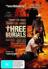 THREE BURIALS OF MELQUIADES ESTRADA Special Ed. ( 2 DVD ) TOMMY LEE JONES ***