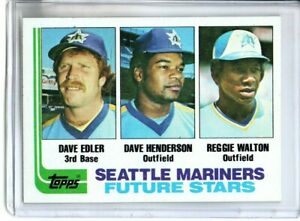 1982 TOPPS DAVE HENDERSON ROOKIE ( NM-MT OR BETTER )
