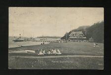 Denmark FOENO Badehotel & jetty Used 1914 PPC