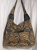 Zebra Garment Bag Luggage Carry on Weekender Purse Adrienne Vittadini