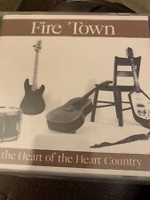 Fire Town In The Heart Of The Heart Country CD New Wounded Bird
