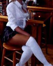 Tamara Pantyhose LONG=D Suntan sheer Hooters Uniform tight 20 denier 13% spandex