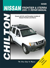 Repair Manual Chilton 52320 fits 05-14 Nissan Frontier