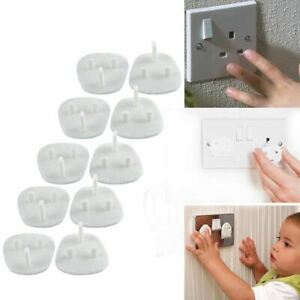 PLUG SOCKET COVERS Babies Children Safety Protector for UK 3 Pin Socket Electric