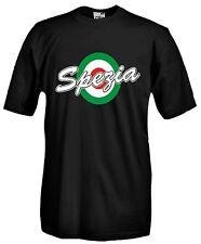 Maglia J903 Spezia Coppa Italia Calcio Ultras Curva Ferrovia T-shirt Cotone