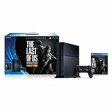 Sony Ps4 500Gb Console The Last Of Us Remastered Very Good 6Z