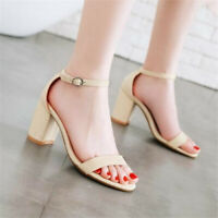 New Nature Womens Comfortables Stiletto  Heel Fashion Sandals Ladies Shoes