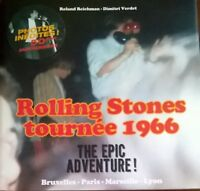 THE ROLLING STONES  FRANCE TOUR 1966 COLLECTOR NUMEROTE  CD ET PROGRAMMES INCLUS