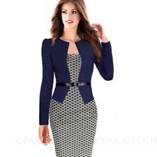 Regular Size Cotton Blend Plaid & Checked Dresses for Women