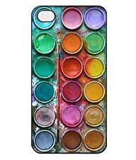"""Cover Guscio Rigido Apple iPhone 6 6S Plus 5.5"""" Tavola di Acquerelli Colorati"""