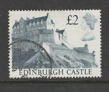 1988 Great Britain £2 Edinburgh Castle Sg 1412