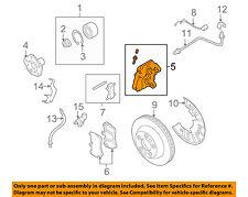 PORSCHE OEM 03-06 Cayenne Front Brake-Disc Caliper 95535142222