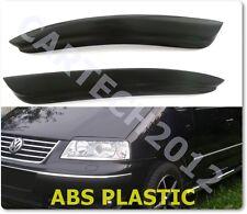 Volkswagen Sharan (2003-2010) Headlights, Eyebrows ABS PLASTIC.tuning