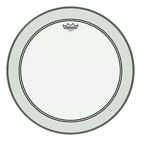 "Remo P31322C2 Powerstroke 3 Clear 22"" Bass Batter Drumhead w/ White Falam Patch"