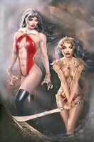 🦇 VAMPIRELLA DEJAH THORIS #1 NATALI SANDERS Exclusive Virgin Variant Ltd 250‼️