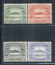 SOLOMON ISLANDS 8-11 SG8-11 MH 1908-11 War Canoe short set of 4/11 Cat$8