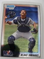 2010 Bowman Chrome #USA-18 Blake Swihart USA Baseball Card