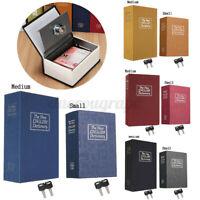 S/M Büchersafe Schlüssel Buchattrappe Tresor Safe Buch Geheimversteck  U