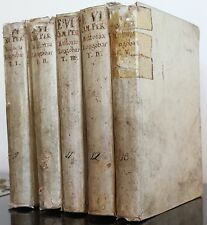 1749 –LOMBARDY & ITALY History and Genealogy 5 VOLUMES - maps, tables
